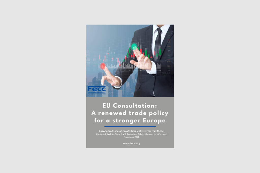 EU Consultation: A renewed trade policy for a stronger Europe