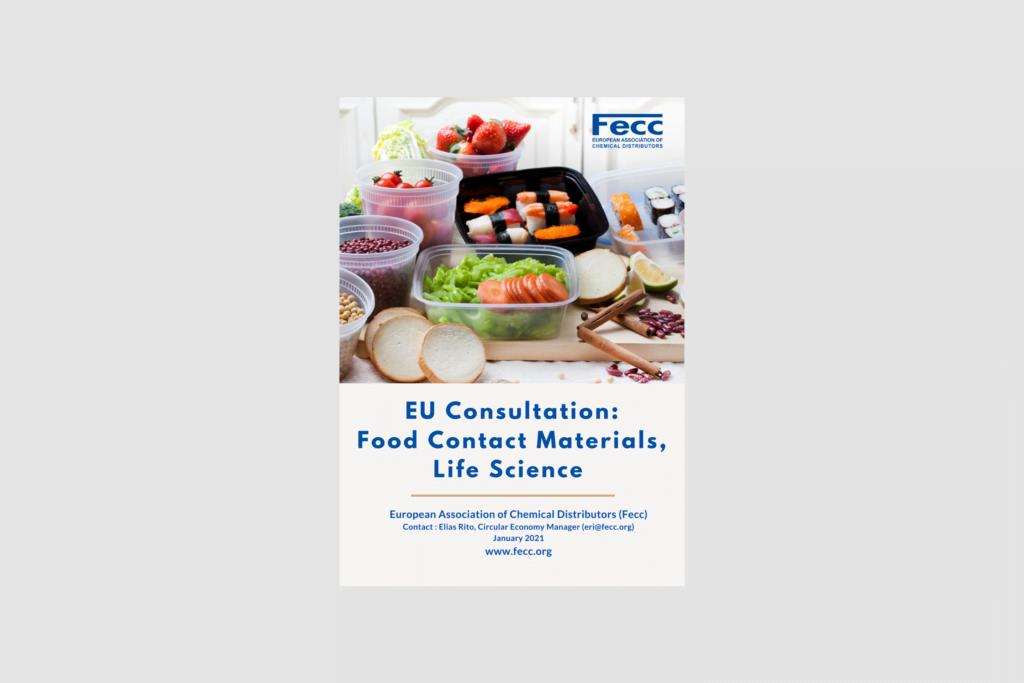 EU Consultation: Food Contact Materials, Life Science