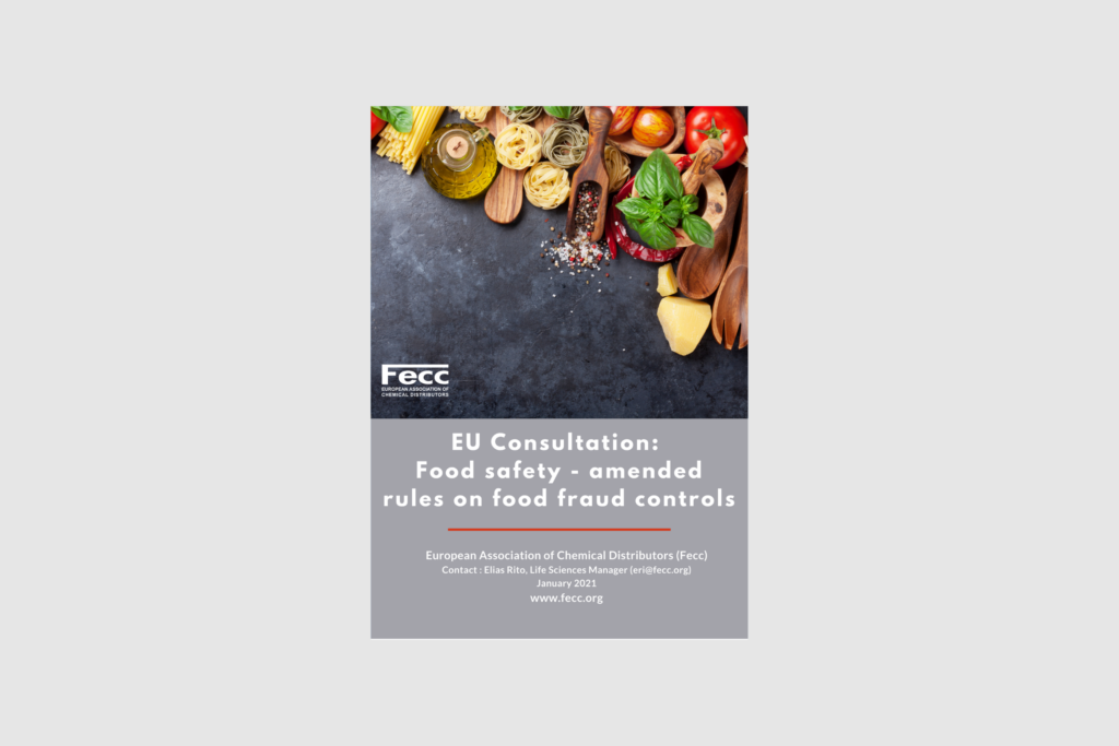 EU Consultation:  Food safety – amended rules on food fraud controls