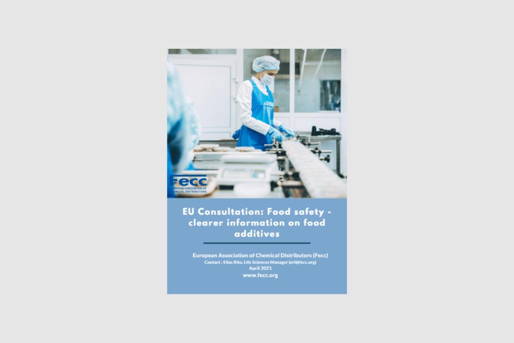 EU Consultation: Food safety – clearer information on food additives