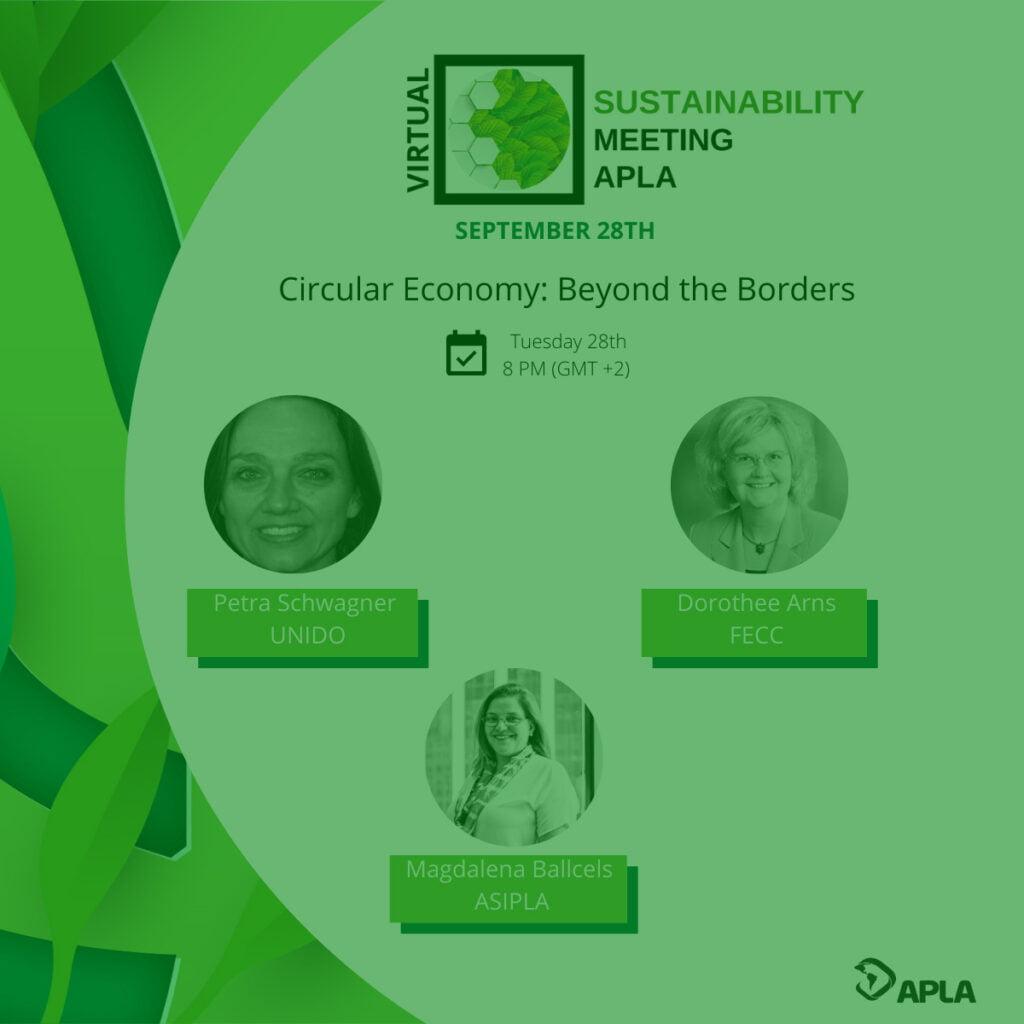 APLA Sustainability Meeting 2021